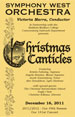 Christmas Canticles, December 16, 2011